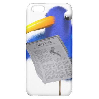 3d Blue Bird News iPhone 5C Covers
