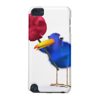 3d Blue Bird Rose iPod Touch 5G Covers