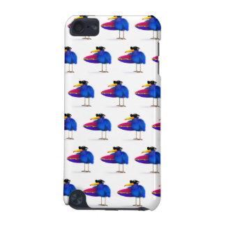 3d Blue Bird Surfboard iPod Touch 5G Cases