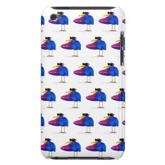 3d Blue Bird Surfboard iPod Touch Case