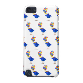 3d Blue Bird with Balloons iPod Touch 5G Case