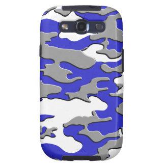 3D BLUE CAMO SAMSUNG GALAXY SIII COVER