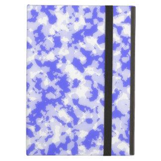 3d blue camo cover for iPad air