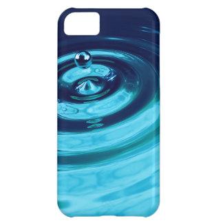 3d Blue Liquid Metallic Ripple iPhone 5C Cover