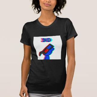 3D Blue T-Shirt