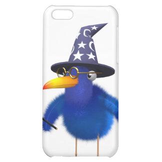 3d Bluebird Cute Wizard Case For iPhone 5C