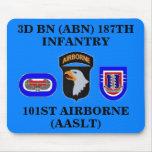 3D BN 187TH INFANTRY 101ST ABN MOUSEPAD