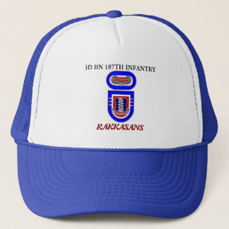 3D BN 187TH INFANTRY RAKKASANS HAT