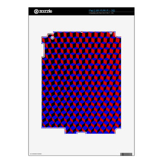 3D Boxes Grid: iPad 2 Decal
