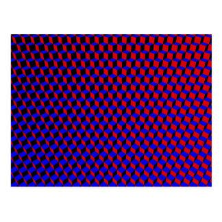 3D Boxes Grid: Postcard