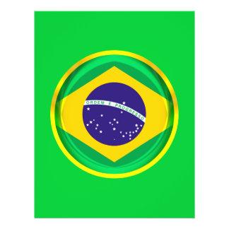 3D Brazil flag Flyer