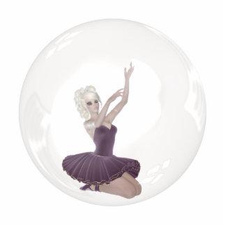 3D Bubble Ballerina 2 Cutout