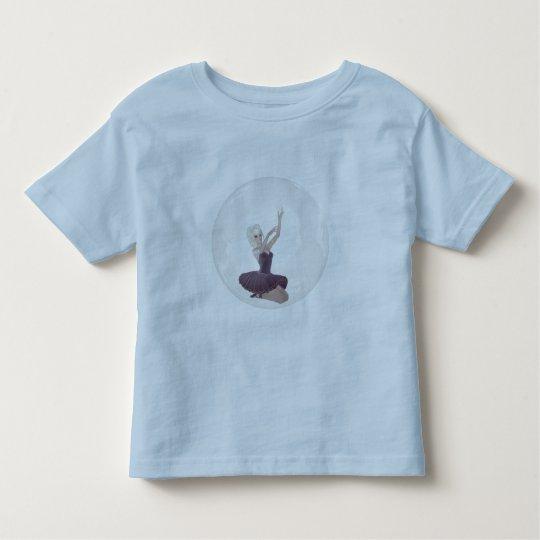 3D Bubble Ballerina 2 Toddler T-shirt