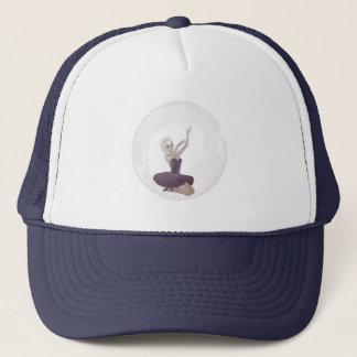 3D Bubble Ballerina 2 Trucker Hat