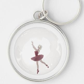 3D Bubble Ballerina 3 Keychain