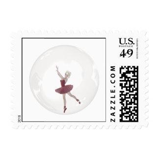 3D Bubble Ballerina 3 Postage