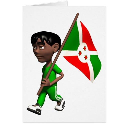 3D Burundi Cards