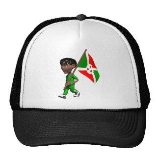 3D Burundi Mesh Hats