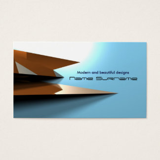 3d Business Cards Templates Zazzle