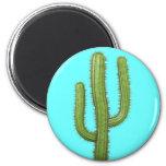 3d Cactus Magnet