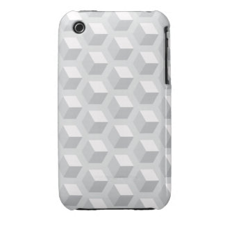 3D caja gris del iPhone 3/3GS iPhone 3 Carcasas