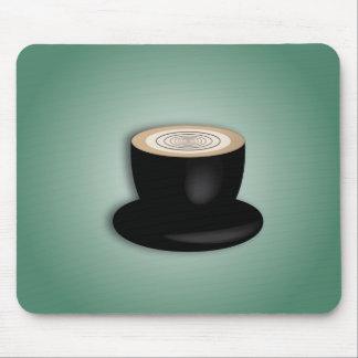 3D Cappuccino Mousepad Tapete De Ratones