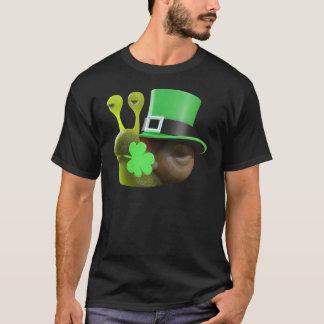3d caracol del día del St Patricks (editable) Playera