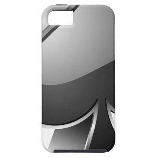 3D card suite symbol iPhone SE/5/5s Case