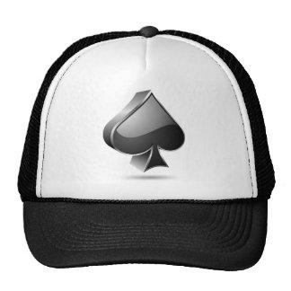3D card suite symbol Trucker Hat
