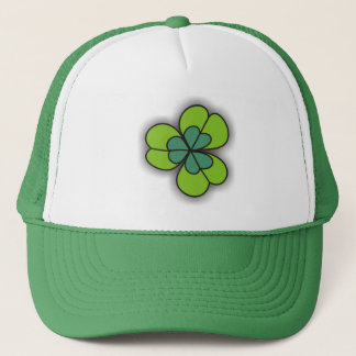 3D Cartoon Shamrock Green Hats