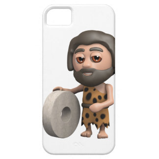 3d caveman wheel (Any Color U Like!) iPhone SE/5/5s Case