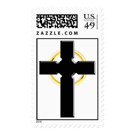 3D Celtic Cross Postage