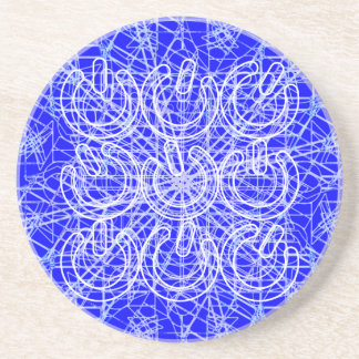 3D Chaotic Power Trip Drink Coaster