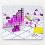 3D Chart Mouse Pad