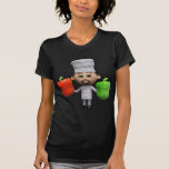 3d Chef with Peppers (Any Color U Like!) Shirt