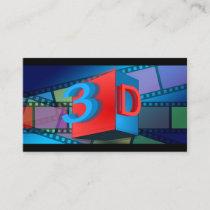 3D cinema Business Card