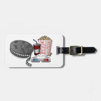 3D Cinema Travel Bag Tag