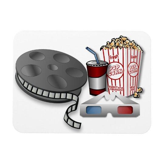 3D Cinema Magnet