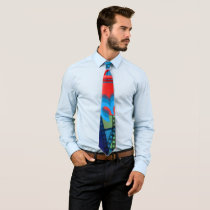 3D cinema Neck Tie