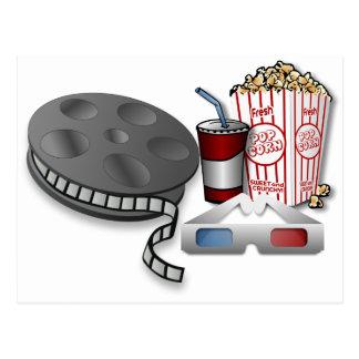 3D Cinema Postcard