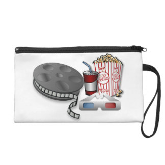 3D Cinema Wristlet Purse