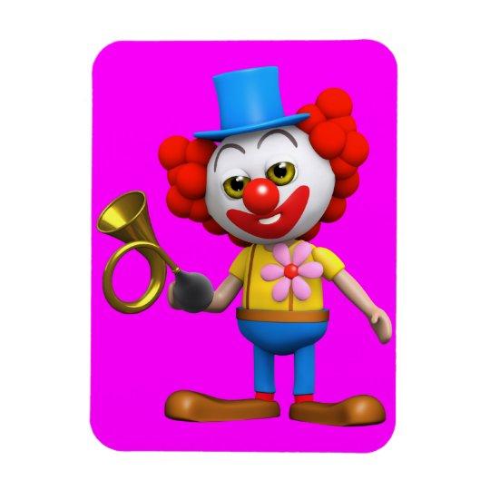 3d Clown Car Horn Magnet