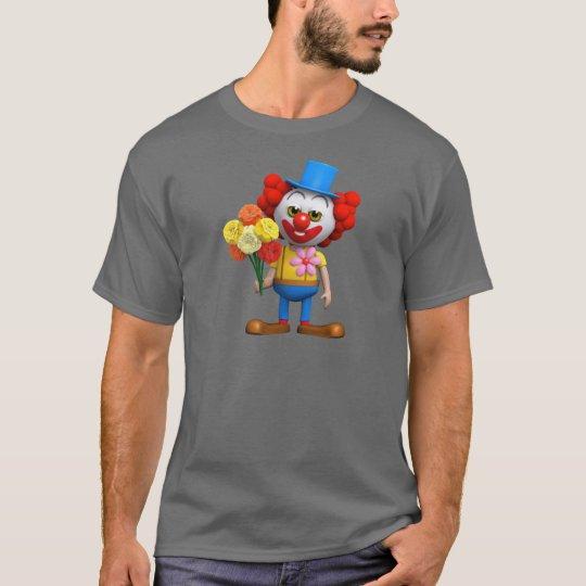 3d-clown-flowers T-Shirt