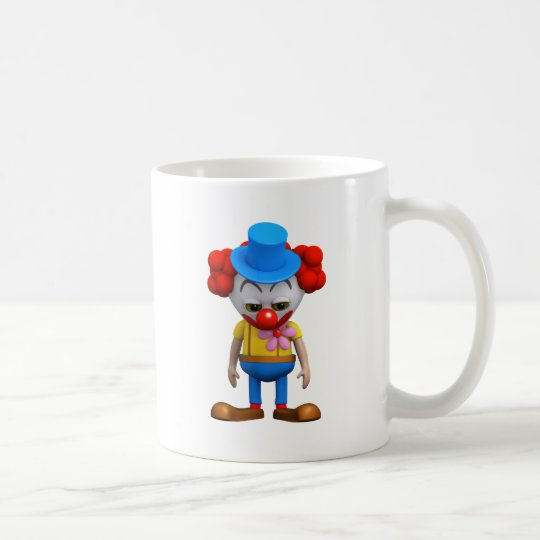 3d-clown-sad coffee mug