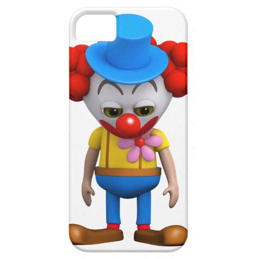 3d Clown Sad iPhone 5 Cover