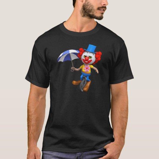 3d-clown-unicycle-umb T-Shirt