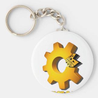 3D CoG @ PAX Basic Round Button Keychain