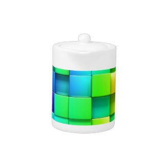 3D Color Teapot