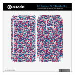 3D colorful cricles Skins For LG Optimus 2X