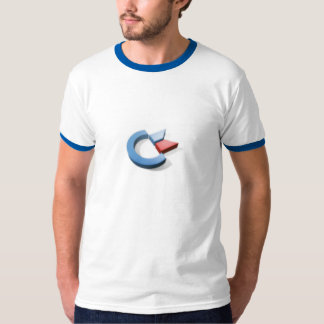 3D Commodore logo T-Shirt